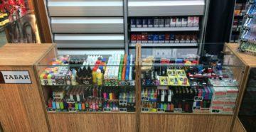 Оборудование для табачного магазина