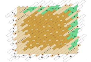 Как правильно класть ламинат по диагонали?