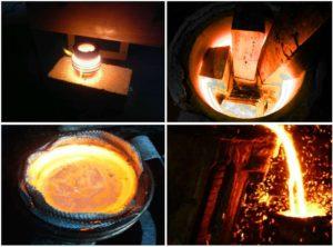 Плавка алюминия в индукционных печах