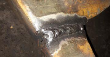 Как варить чугун полуавтоматом?