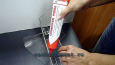 Как склеить оргстекло в домашних условиях
