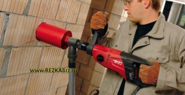 Сколько стоит просверлить отверстие в бетоне перфоратором?