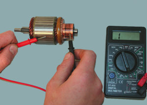 Как правильно прозвонить электродвигатель?